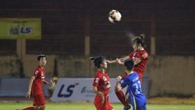 PP.Hà Nam và TKS Việt Nam chia điểm với tỷ số hòa 0-0. Ảnh: ANH TRẦN