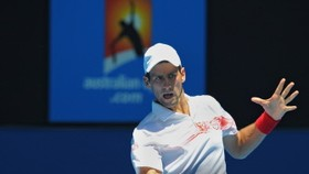 Djokovic feels the heat but passes test