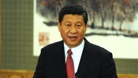 Congratulations to new Chinese Party leader