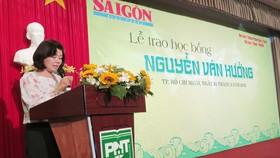Báo SGGP tổ chức trao học bổng Nguyễn Văn Hưởng lần thứ 18
