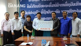 Đà Nẵng: Hỗ trợ các nạn nhân bị ảnh hưởng sự cố vỡ đập thủy điện ở Lào