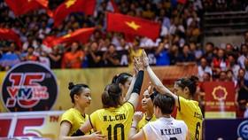 Đội tuyển Việt Nam đã giành ngôi vô địch VTV Cup khá dễ dàng. Ảnh: MINH HOÀNG