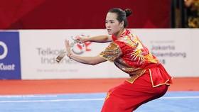 Các VĐV của Việt Nam như Nguyễn Thuỳ Linh khá ngại khi đụng độ đối thủ chủ nhà. Ảnh: DŨNG PHƯƠNG