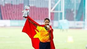 Sau thành công ở Asiad 2018, Bùi Thị Thu Thảo sẽ hướng đến đấu trường thế giới. Ảnh: DŨNG PHƯƠNG