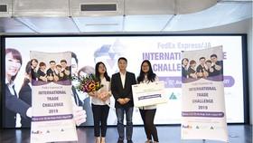 Doanh nhân trẻ Việt Nam trình bày ý tưởng kinh doanh tại cuộc thi Thử thách Thương mại quốc tế FedEx