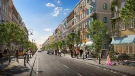 Những con phố tại Sun Grand City New An Thoi sở hữu thiết kế hoàn hảo để kinh doanh thương mại