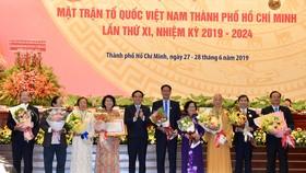 Bế mạc Đại hội đại biểu MTTQ Việt Nam TPHCM lần thứ XI, nhiệm kỳ 2019-2024