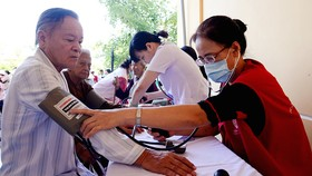 Hội Chữ thập đỏ TPHCM chung sức xây dựng nông thôn mới