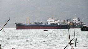 """Đã xác định được vật thể """"lạ"""" chìm ở luồng vào Cảng Quy Nhơn"""