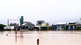 Mưa lũ gây thiệt hại nặng nề tại Bình Định