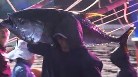 Ăn tết trên biển, một tàu cá trúng mẻ cá bò gù bán 350 triệu đồng