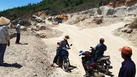 """Vụ """"đất tặc"""" lộng hành đào phá núi Mò O: Khẩn trương xử lý nghiêm, tránh xảy ra điểm """"nóng"""""""