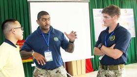 Hải quân Hoa Kỳ trao đổi kinh nghiệm ứng phó với thiên tai