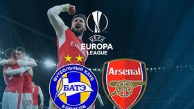 Bảng H: BATE - Arsenal 2-4