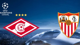 Bảng E: Spartak Moscow - Sevilla 5-1: Sevilla đại bại