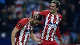 Atletico Madrid - Sporting CP 2-0: Koke mở tỷ số giây thứ 23