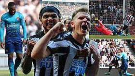 Newcastle United - Arsenal 2-1: Pháo thủ thất bại cay đắng