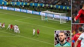 Bồ Đào Nha - Tây Ban Nha 3-3: Nacho ghi bàn, Diego Costa cú đúp nhưng Ronaldo lập hattrick