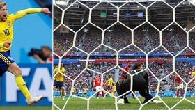 Vòng 1/8, Thụy Điển - Thụy Sĩ 1-0: Người hùng Emil Forsberg giúp Thụy Điển vào tứ kết sau 24 năm