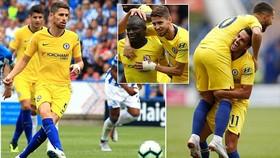 Huddersfield - Chelsea 0-3: Kante, Jorginho và Pedro giúp Maurizio Sarri có quà ra mắt