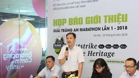 Khoảng 800 VĐV dự Tràng An Marathon lần thứ 1- 2018