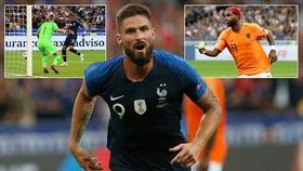 Pháp - Hà Lan 2-1: Mbappe, Giroud tỏa sáng