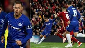 Liverpool - Chelsea 1-2: Emerson gỡ hòa, Hazard lập tuyệt phẩm
