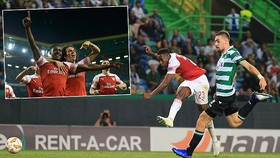 Sporting - Arsenal 0-1: Welbeck khai hỏa, Pháo thủ London nhất bảng