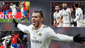 Viktoria Plzen - Real 0-5: Benzema, Gareth Bale lập công, HLV Solari thêm chiến thắng