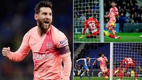 Espanyol - Barcelona 0-4: Messi lập cú đúp, Dembele, Luis Suarez cũng tỏa sáng