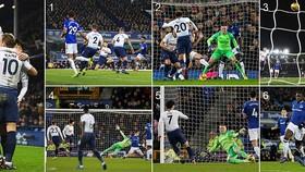 Everton - Tottenham 2-6: Son Heung Min, Harry Kane lập cú đúp tặng quà Giáng sinh