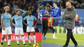 Leicester - Man City 2-1: Albrighton, Ricardo Pereira buộc Pep Guardiola ngậm đắng tụt hạng
