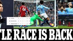 Man City - Liverpool 2-1: Aguero, Sane tỏa sáng và Pep Guardiola thắng Jurgen Klopp