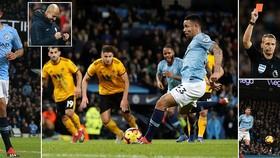 Man City - Wolverhampton 3-0: Gabriel Jesus tiếp tục tỏa sáng