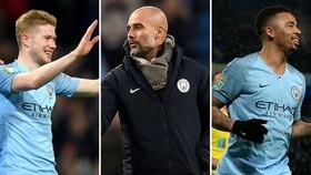 Man City - Burnley 5-0: Gabriel Jesus, Bernardo, De Bruyne, Aguero lập công, Pep lại thắng đậm
