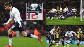 Tottenham - Watford 2-1: Son Heung Min và Llorente kịp ngược dòng ấn tượng