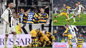 Juventus - Parma 3-3: Ronaldo tỏa sáng nhưng Gervinho buộc Juve chia điểm