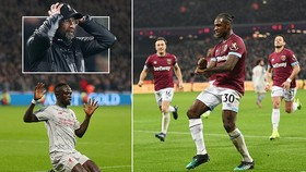 West Ham - Liverpool 1-1: Sadio Mane mở tỷ số, Antonio gỡ hòa, Jurgen Klopp bị cầm chân