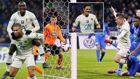 Beaujolais - PSG 0-3 (hiệp phụ): Draxler, Diaby, Cavani lập công, PSG thắng chật vật