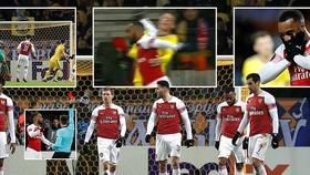 BATE Borisov - Arsenal 1-0: Dragun đánh đầu hạ Petr Cech, Lacazette nhận thẻ đỏ