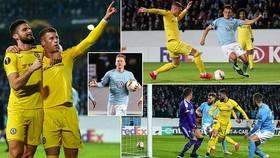 Malmo - Chelsea 1-2: Barkley, Giroud lập công giúp HLV Sarri giành chiến thắng