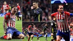 Atletico Madrid - Juventus 2-0: Ronaldo tịt ngòi, Gimenez, Godin tỏa sáng 5 phút giành chiến thắng