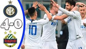 Inter - Rapid Wien 4-0 (chung cuộc 5-0): Vecino, Ranocchia, Perisic, Politano vùi dập đối thủ