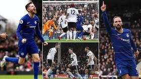 Fulham - Chelsea 1-2: Higuain, Jorginho tỏa sáng, HLV Sarri có cơ hội vào tốp 4