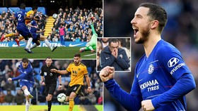 Chelsea - Wolverhampton 1-1: Raul Gimenez mở tỷ số, Eden Hazard tỏa sáng kịp lúc giành 1 điểm