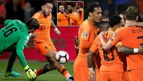 Hà Lan - Belarus 4-0: Memphis Depay, Wijnaldum, Virgil van Dijk khai màn bằng chiến thắng tưng bừng