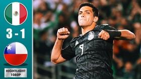 Mexico - Chile 3-1: Jimenez, Moreno và Lozano lập công, HLV Gerardo Martino thắng dễ