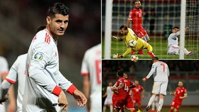 Malta - Tây Ban Nha 0-2: Dấu ấn Morata, Tây Ban Nha nhất bảng F