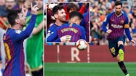 Barcelona - Espanyol 2-0: Ngôi sao Lionel Messi tỏa sáng, Barca vững ngôi đầu