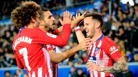 Alaves - Atletico Madrid 0-4: Saul, Costa, Morata, Partey lập công, HLV Diego Simeone đại thắng